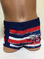 Плавки-шорты детские, подростковые плавательные. Голубые.TERES  BH 2115 красный  , фото 1