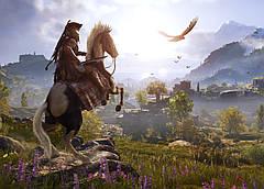 Картина GeekLand Assassin's Creed Кредо ассасина пейзаж 60х40см AC.09.003