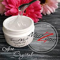Прозрачный гель- суфле (густой) для наращивания ногтей Crystal от Sweet Nails 50грамм