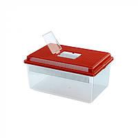 Контейнер для мелких животных GEO FLAT SMALL  35,5 x 23,5 x h 16,5 cm - 4 L