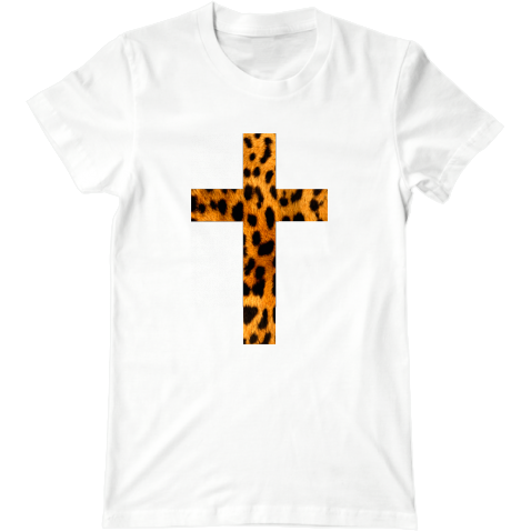 Футболка Leopard Cross