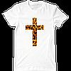 Футболка Leopard Cross