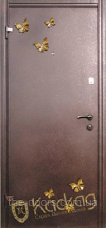 Входная дверь Каскад серия Премиум модель Бабочка