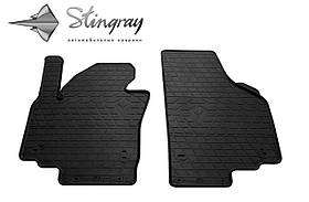 Передние резиновые коврики SEAT Altea XL 2009- (2 шт) Stingray 1024254