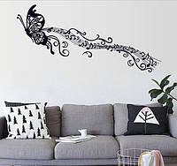 Интерьерная наклейка - Бабочка  (170х50см), фото 1