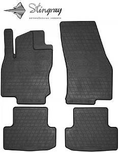 Коврики резиновые в салон SEAT Ateca 2016- (4 шт) Stingray 1048014