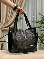 Женская сумка глиттер и кож.зам, фото 2