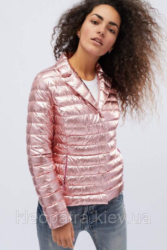 Молодежная женская демисезонная куртка -пиджак Блеск