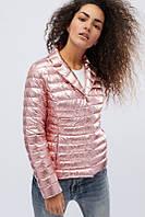 Молодежная женская демисезонная куртка -пиджак Блеск, фото 1