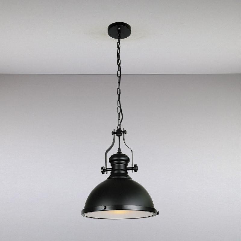 Люстра LS-13186-1  черная