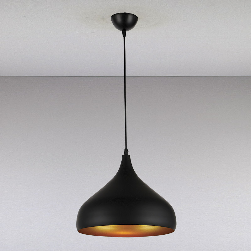 Люстра LS-13230-1 BK 320  черная