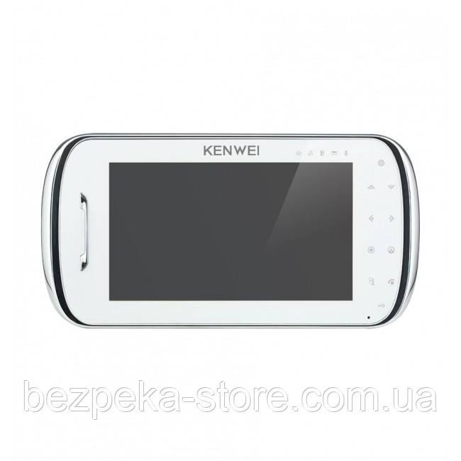 Видеодомофон Kenwei S704C-W100 white