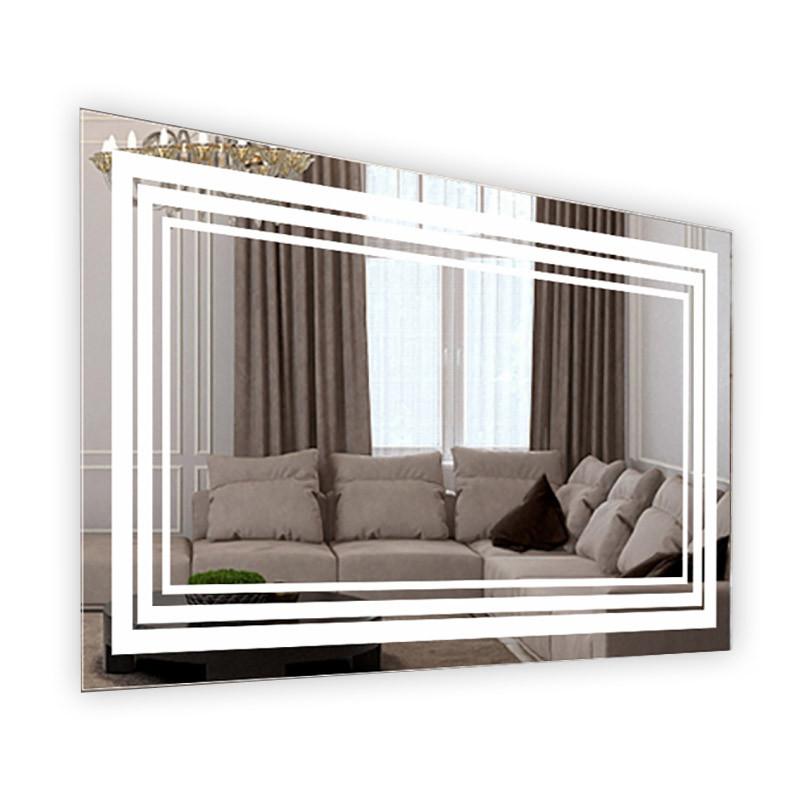 Зеркало ModGlass LINE с LED-подсветкой 63,5x80 см