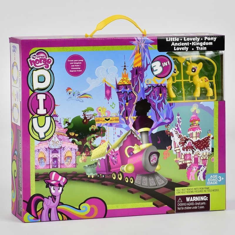 Игровой набор Замок пони SM 1026  в коробке