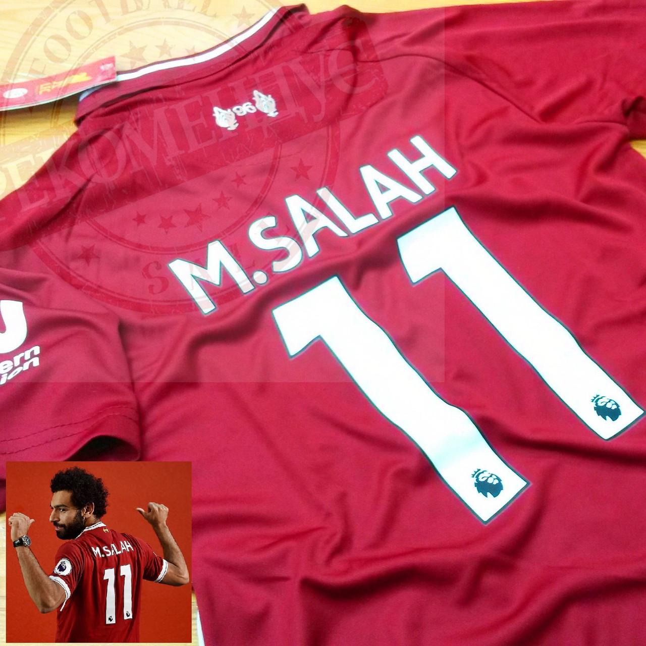 Детская футбольная форма Ливерпуль №11 Салах
