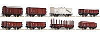 Roco 44002 / набор из 8 вагонов принадлежности Deutschen Bundesbahn 1/87