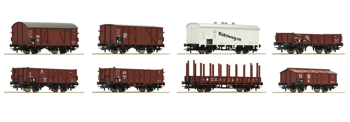 Roco 44003 комплект 8 вагонов принадлежность DRG / 1/87