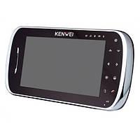 Видеодомофон Kenwei S704C-W100 black