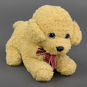 Мягкая игрушка Собачка С 22841 цвет бежевый
