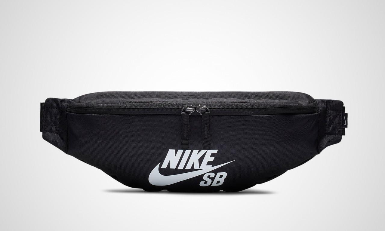 5c62429c5aba Сумка на пояс Nike SB Heritage Belt Bag BA6077-010 Черный (886061900899) -