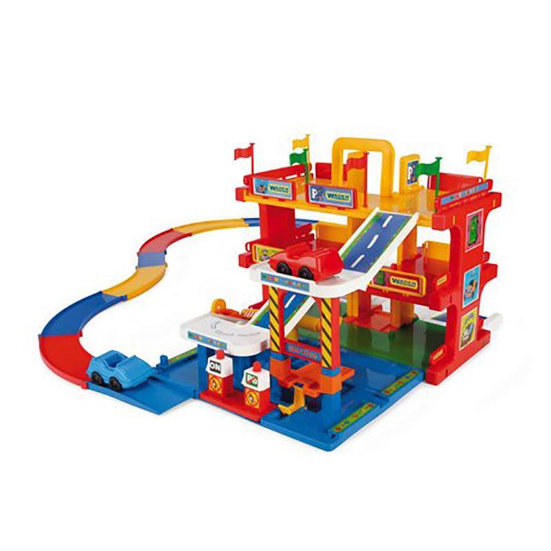 Игровой набор «Гараж Kid Cars 3D» 50400