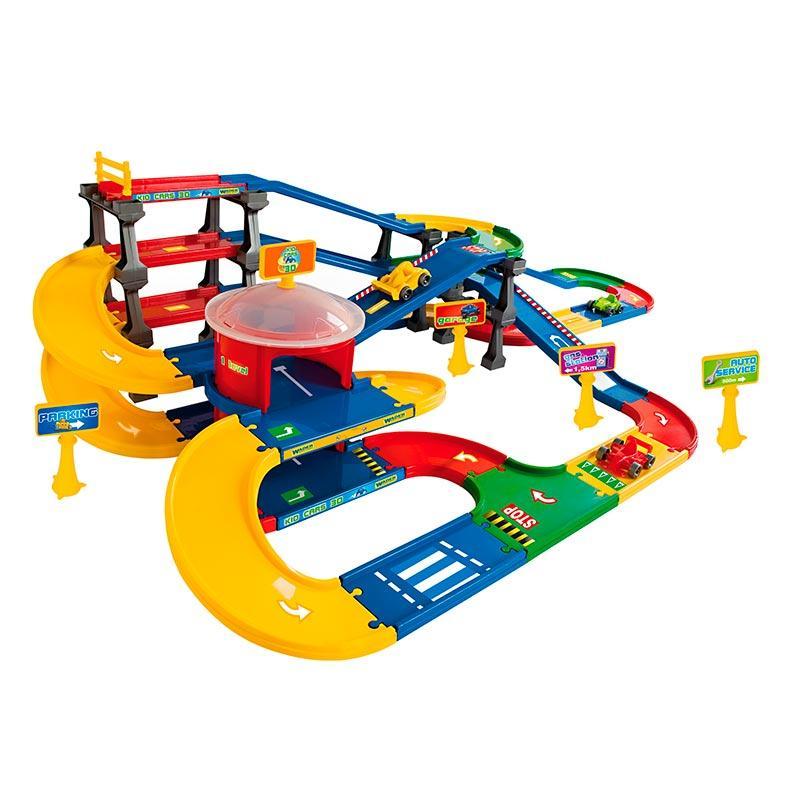 Трек с паркингом «Kid Cars 3D» (9,1 м) 53070