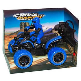 Квадроцикл на радиоуправлении «Cross Country» (голубой) 1172