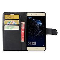 Чехол-книжка Litchie Wallet для Huawei P10 Lite Черный