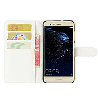 Чехол-книжка Litchie Wallet для Huawei P10 Lite Белый