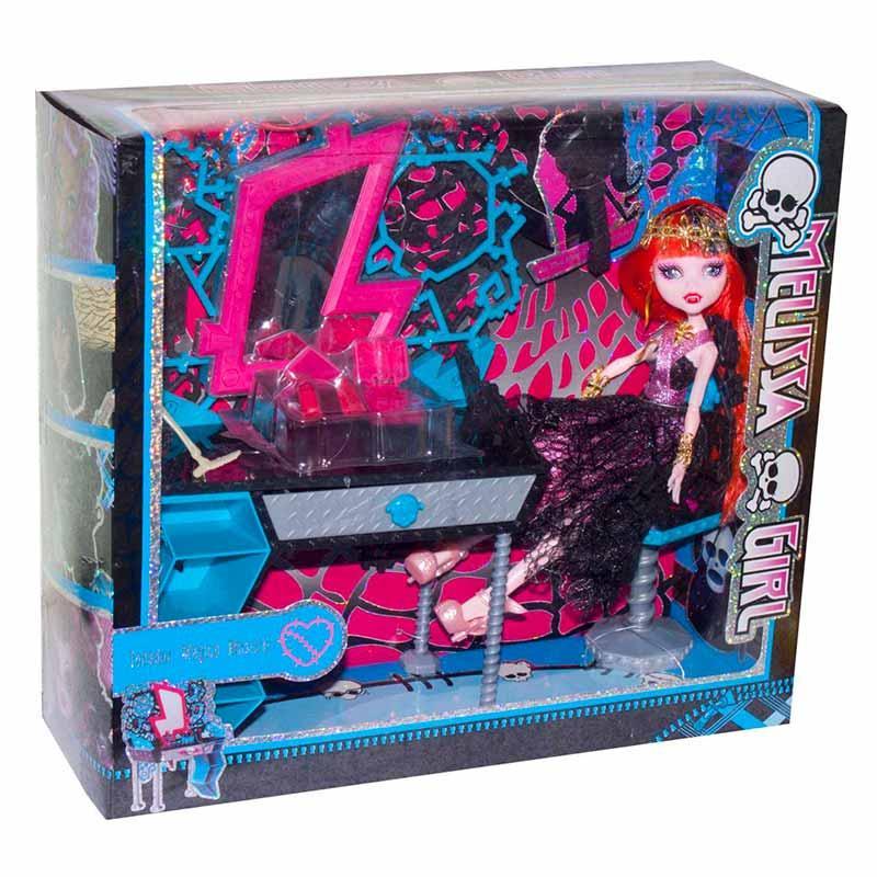 Кукла с мебелью «Monster High (Школа Монстер Хай)» №4 MH8910G