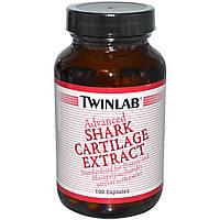 Акулий хрящ Twinlab 1000 мг 100 капсул