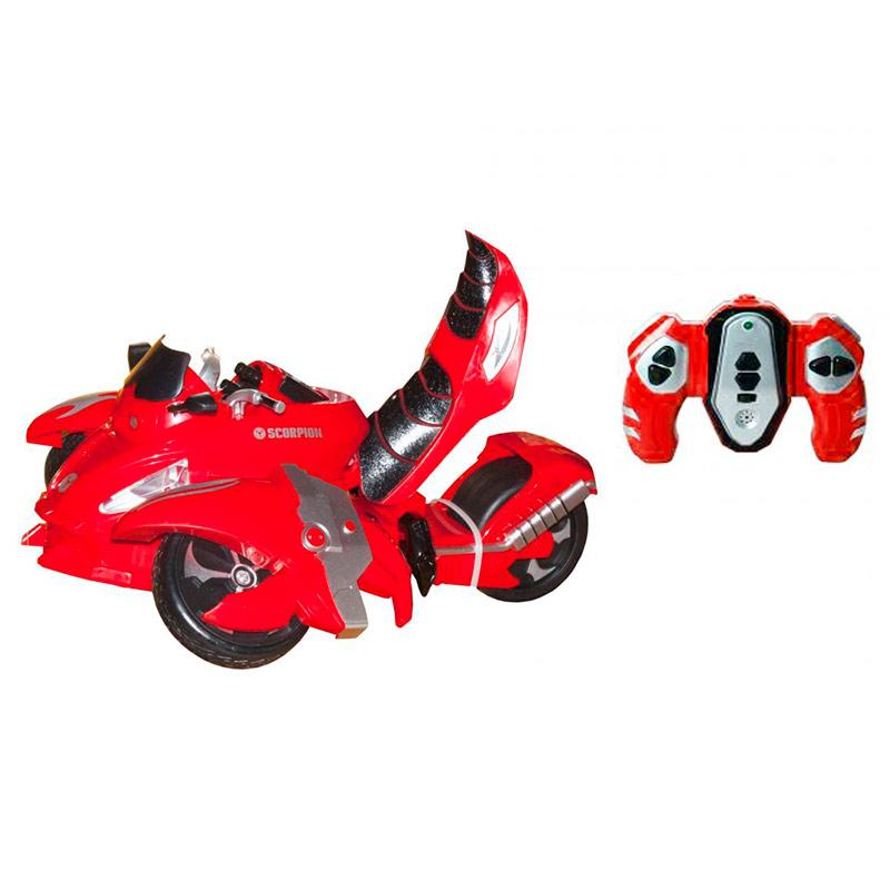 Мото-трансформер на радиоуправлении «Скорпион» (красный) 1155