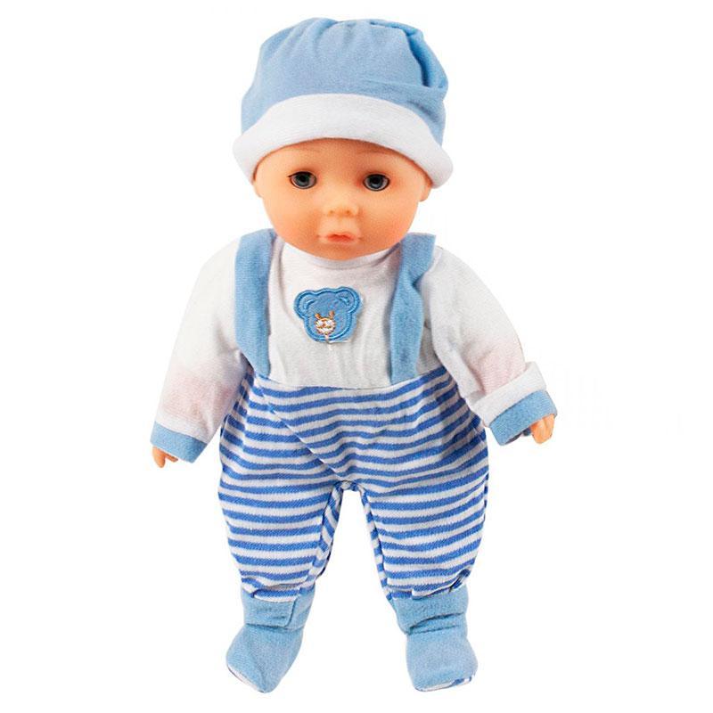 Говорящий пупс «Ляля» (в голубом), 30 см 2014-12EMR