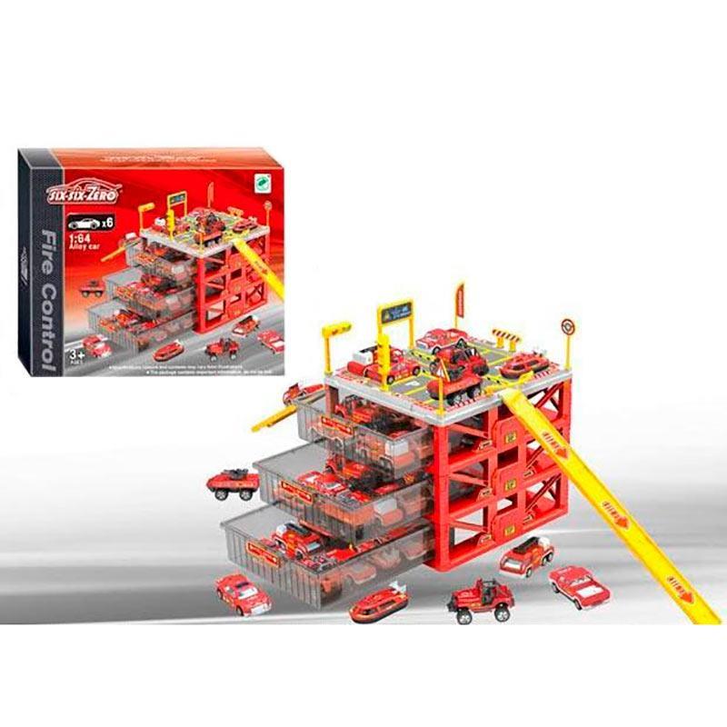 Парковка «six-six-Zero», 4 уровня (красная) 660-A155