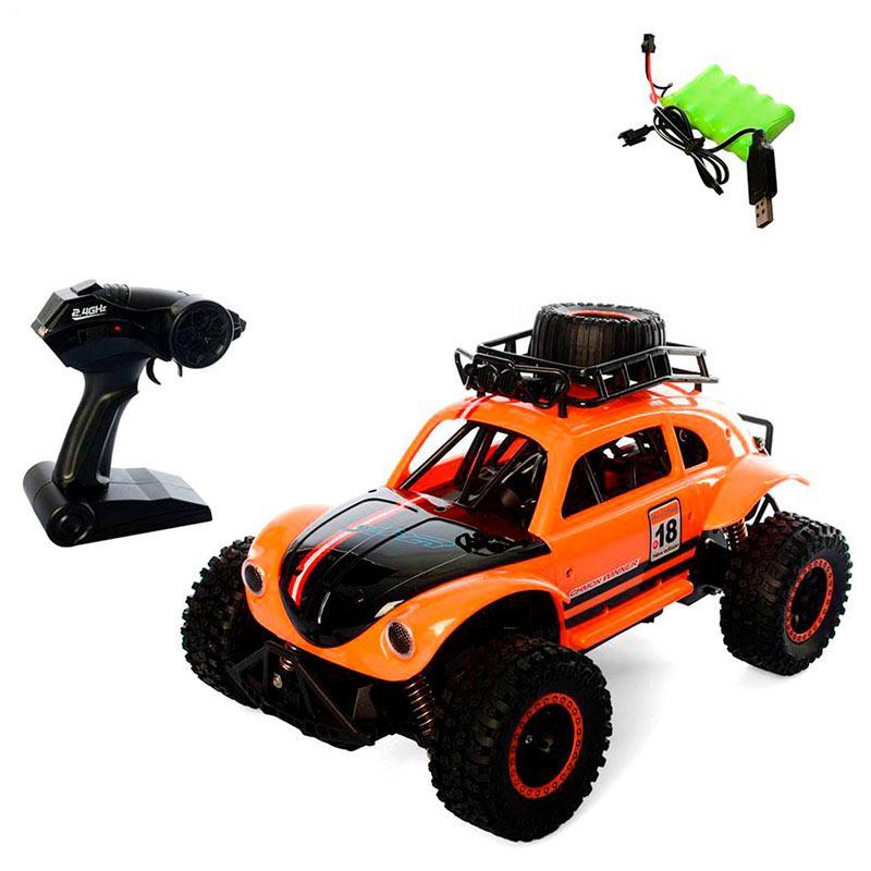 Вездеход на радиоуправлении «Volkswagen Beetle» (оранжевый) 1128