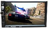 Автомагнітола Pioneer 8702 2DIN, GPS, Android 9, IpTV, WIFI, FM, BT+ пульт КОРЕЯ!, фото 7