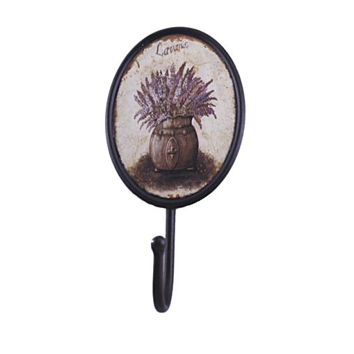 Вешалка-крючок «Лаванда», 19 см, метал