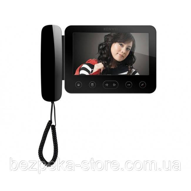 Видеодомофон Kenwei E705FC black