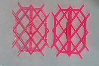 Штамп пластиковый для мастики ромбики 125*85*40 мм (шт)