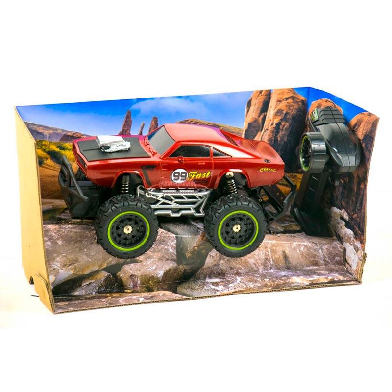 Машина на радиоуправлении «Climber: Mustang» (вишневая) 1012