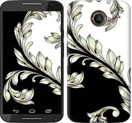 "Чехол на Motorola Moto E4 Plus White and black 1 ""2805c-1000-328"""