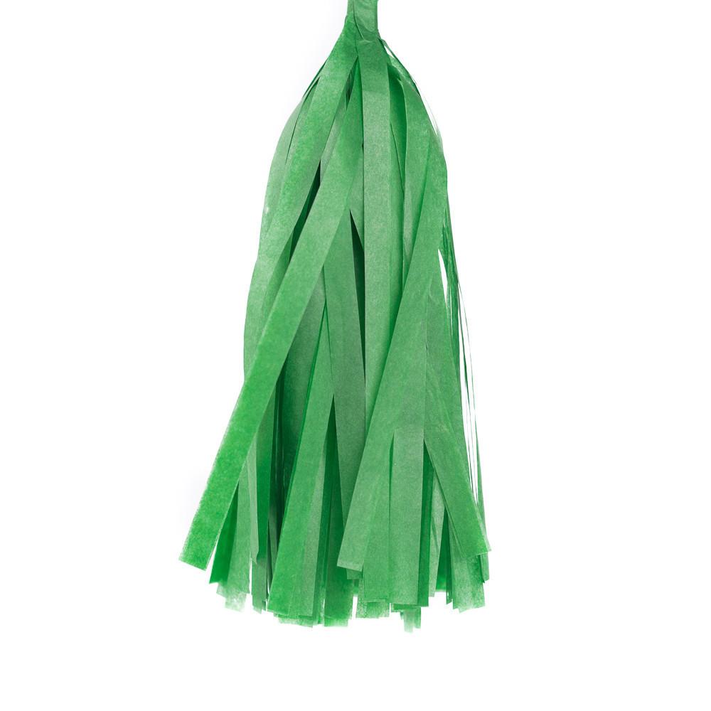 Кисточка для гирлянды Тассел Зелёная