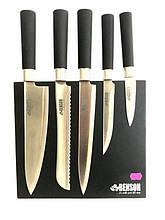 Набор ножей 6 предметов на магнитной подставке. Benson