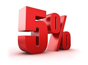 Подарочный сертификат 5% на латунные шаровые краны