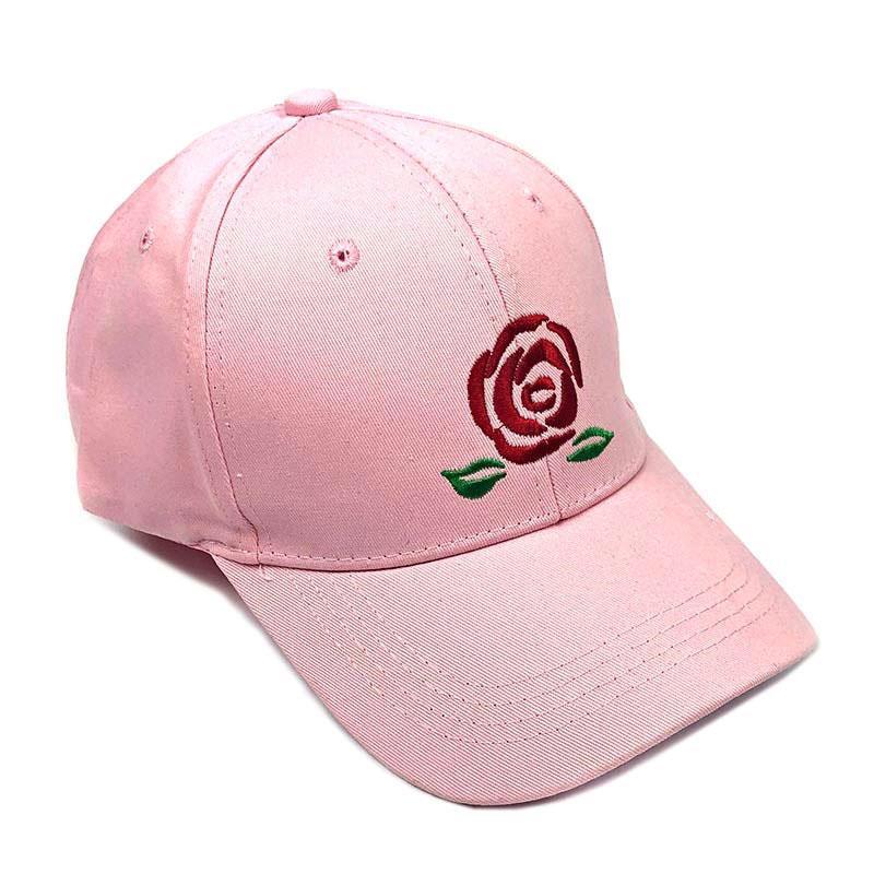 Кепка бейсболка Big Rose розовая