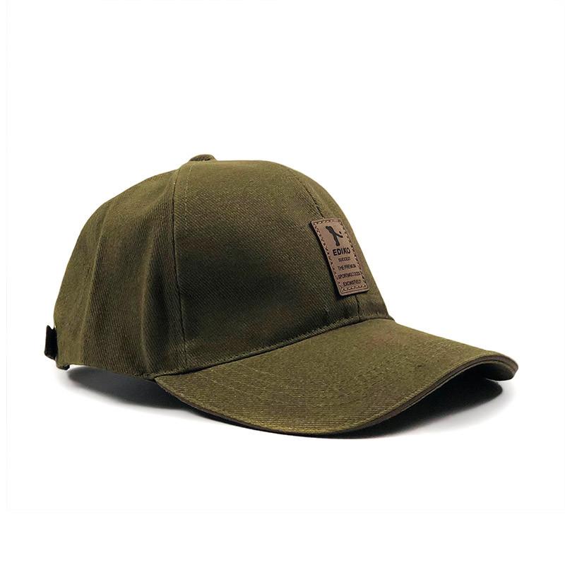 Бейсболка МК-1015 темно-зеленая