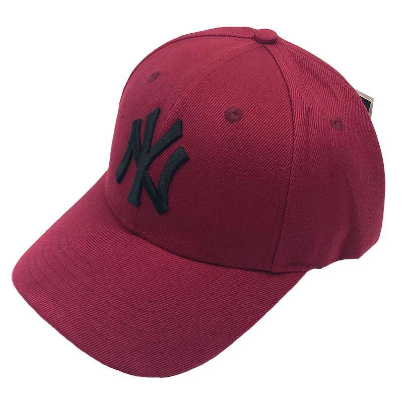 Бейсболка МК-1029 MLB бордовая