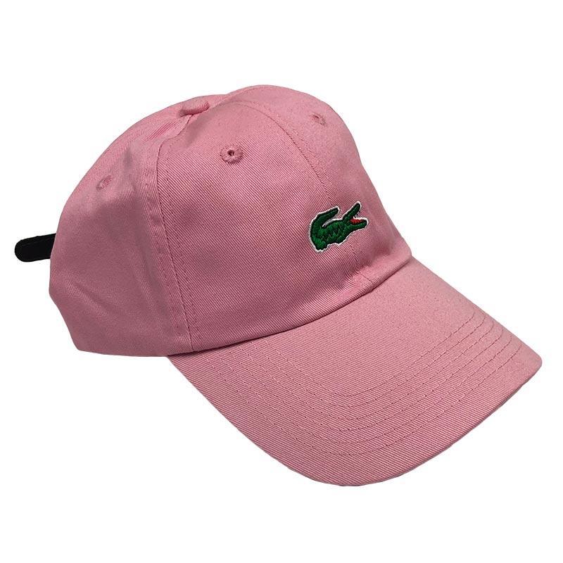Бейсболка МК-1024  большое лого розовая