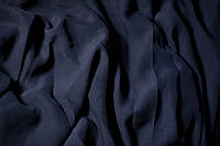 Шифон темно синий