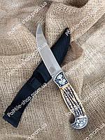 Нож охотничий Охотник FB 1858 Элитный нож Крокодил. Надежный фирменный нож